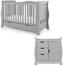 Obaby Stamford Luxe 2-Piece Nursery Furniture Room