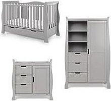 Obaby Stamford Luxe 3-Piece Nursery Furniture Room