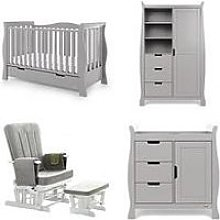 Obaby Stamford Luxe 3-Piece Room Set &Amp; Deluxe