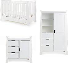Obaby Stamford Luxe Sleigh 3 Piece Nursery Set -