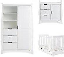 Obaby Stamford Mini 3-Piece Furniture Set, White