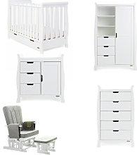 Obaby Stamford Mini 5 Piece Nursery Furniture Set