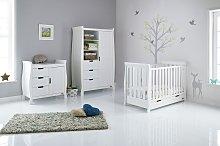 Obaby Stamford Mini Sleigh 3 Piece Nursery Set -