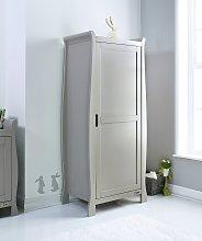 Obaby Stamford Single Wardrobe - Warm Grey