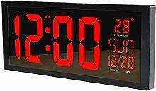 obzk Large LED Digital Wall Clock Intelligent with