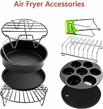 Ocamo A Set of 8 Air Fryer Accessories 8 Inch for