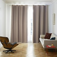 Occultant Eyelet Blackout Thermal Door Curtain