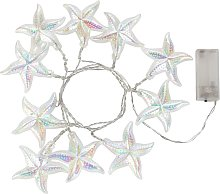 Ocean Fantasy Starfish String Lights