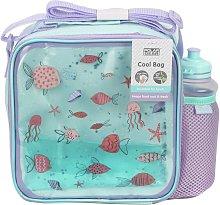 Ocean Print Lunch Bag & Bottle - 450ml