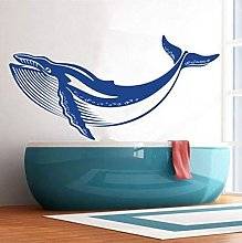 Ocean Whale Nursery Wall Decal Decorative Art