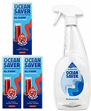 OceanSaver All Purpose Floor Cleaner Starter Kit |
