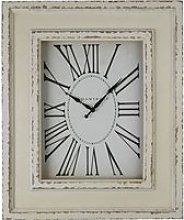 Ocrasey Rectangular Antique Style Wall Clock In