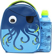 Octopus Lunch Bag & Bottle - 500ml