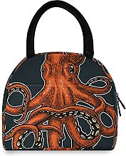 Octopus Lunch Bag Cooler Bag Insulated Lunch Box