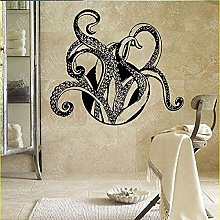Octopus Wall Stickers Wall Decal Animals Tentacles