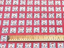 Oddies Textile Rose & Hubble Christmas Santa Stamp