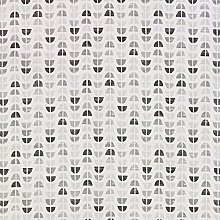 Odense Grey Scandinavian Oilcloth Wipeclean