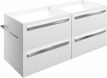 Odense Wall Hung 4-Drawer Vanity Unit 1200mm Wide