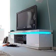Odessa 2 Door Lowboard Tv Stand in High Gloss