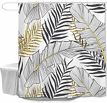 Oduo 3D Shower Curtains Bathroom Shower Curtains