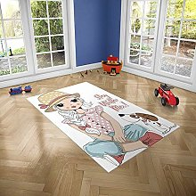Oedim Children's Rug Stay with Me for Rooms
