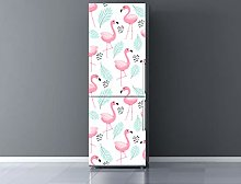 Oedim Flamingo Fridge Vinyl 200 x 60 cm | Durable