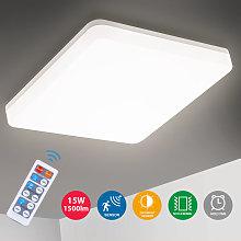 Oeegoo 15W LED Ceiling Light Bathroom, PC, 15w