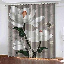 OEONOJ Blackout Window Curtain Panels, Light