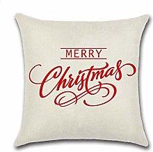 OEWFM Cushion cover Christmas Pillow Cover Cheap