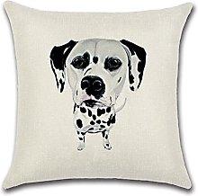 OEWFM Cushion cover Square Cotton Linen colourful