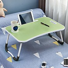 OFCASA Foldable Laptop Bed Table Portable Lap Desk
