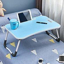 OFCASA Foldable Laptop Bed Table Portable Lap Desk