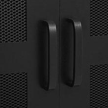Office Cabinet with Mesh Doors Industrial