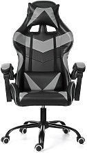 Office Chair Gaming Chair Ergonomic Leather Swivel