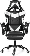 Office Chair Gaming Desk Chair PU Leather Swivel