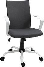 Office Chair Linen Swivel Computer Desk Chair Home
