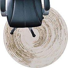 Office Chair Mat For Hard Floors, Anti Slip Round