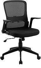 Office Chair Mesh Computer Desk Chair Mid-Back