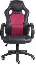 Office Chair PU Leather Desk Gaming Chair,