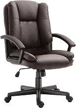 Office Chair PU Leather Swivel Executive Armchair