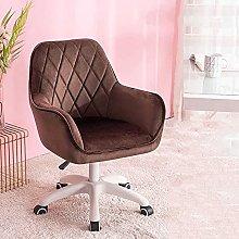 Office Chair Velvet,Ergonomic Conference Chair