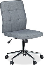 Office Desk Chair, Height-Adjustable Swivel Chair,