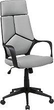 Office Desk Chair Swivel Adjustable Height Grey