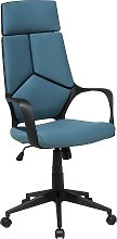 Office Desk Chair Swivel Adjustable Height Teal