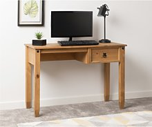 Office Desk in Pine with 1 Drawer - Corona