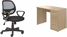 Office Essentials Mesh Back Swivel Desk Chair with