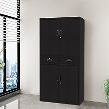 Office Filing Cabinet Document File Compartments
