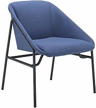 Office Hippo Amethyst Reception Lounge Chair, Navy