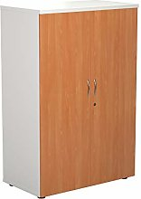 Office Hippo Desk High Cupboard with 4 Shelves,