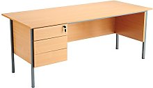 Office Hippo Eco 18 Desk with Three Drawer